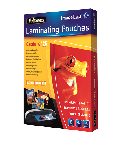 Fellowes Capture 125 Micron Pouches