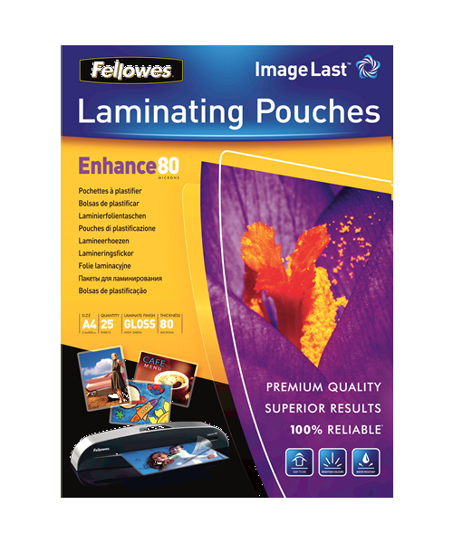 Fellowes Enhance80 Micron Pouches