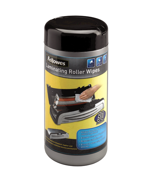 Fellowes Laminator Roller Wipes