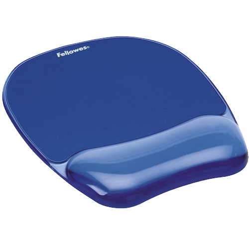 Fellowes Crystals Gel Wrist Rest And Mousepad