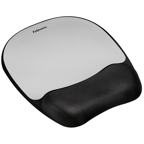Fellowes Memory Foam Keyboard Wrist Rest and Mouse Pads